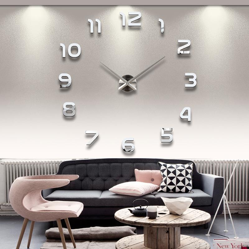 Wanduhr 100 - 130 cm 3 D XXL Uhr Selbst gestaltbare Do-it-yourself Design 8