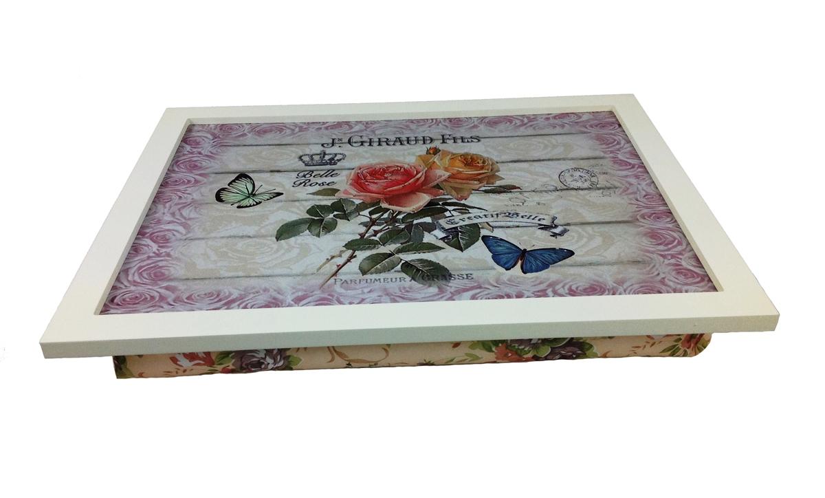 knietablett bella rosa knietisch laptop notebook tablett. Black Bedroom Furniture Sets. Home Design Ideas