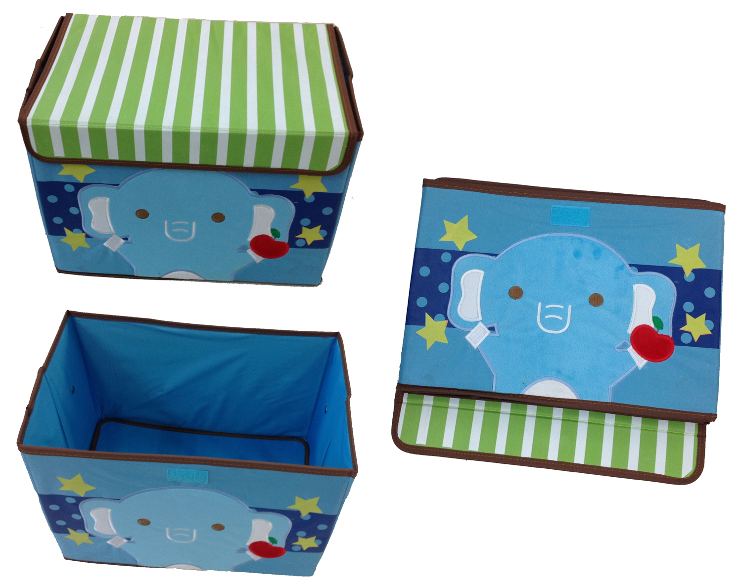 spielzeugbox elefant aufbewahrungsbox spielzeugkiste aufbewahrung kinderm bel ebay. Black Bedroom Furniture Sets. Home Design Ideas