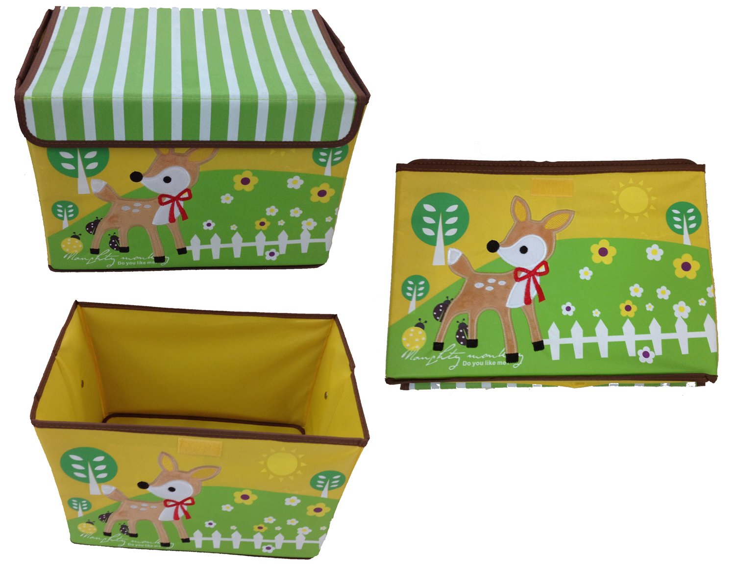 spielzeugbox hirsch aufbewahrungsbox spielzeugkiste aufbewahrung kinderm bel ebay. Black Bedroom Furniture Sets. Home Design Ideas