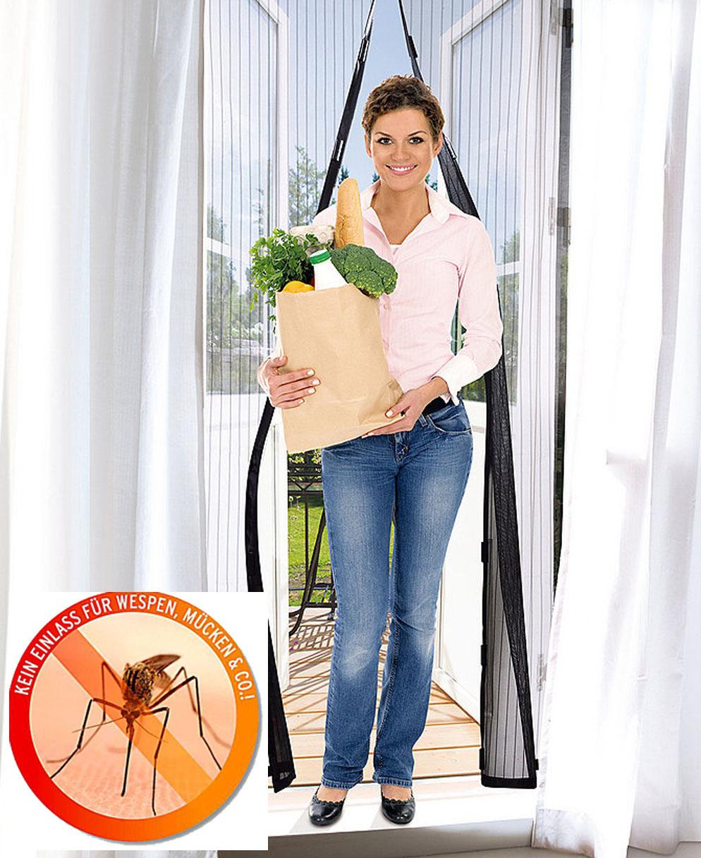 Cortina De Protecci N Contra Insectos Moscas Mosquitos