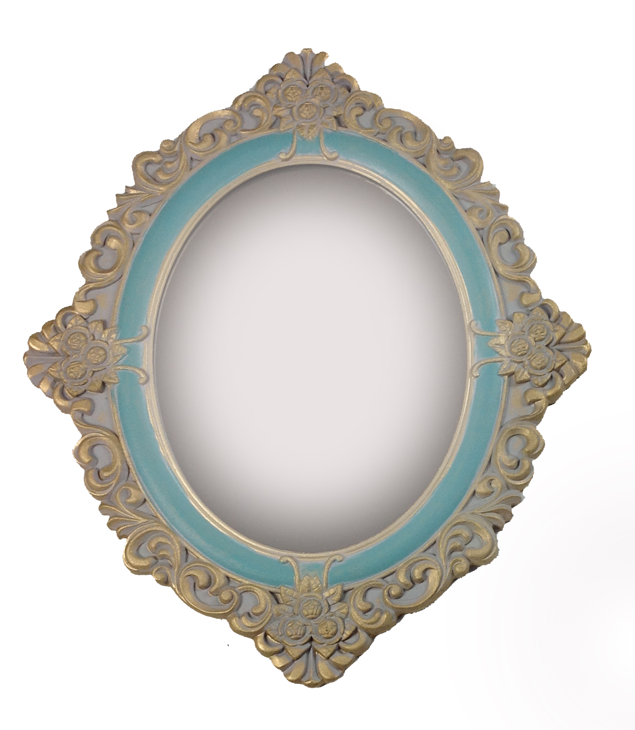 antik holz wandspiegel spiegel 59 cm garderobenspiegel flurspiegel barock gold ebay. Black Bedroom Furniture Sets. Home Design Ideas